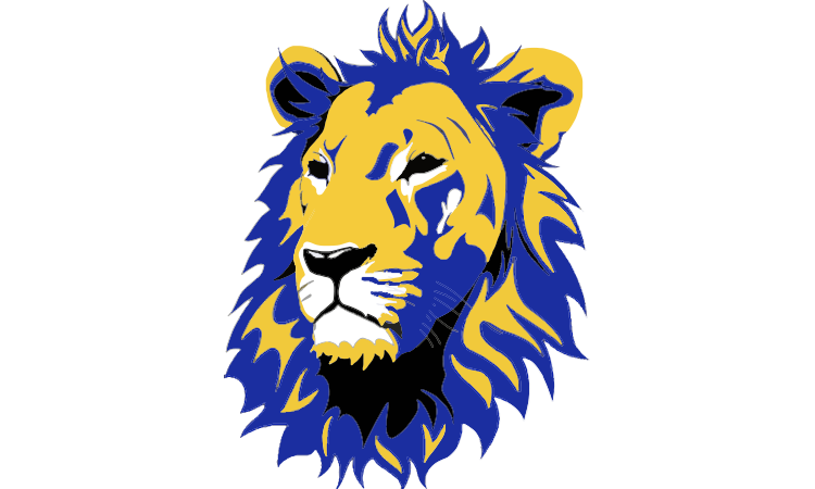 Yellow lion logo - photo#46